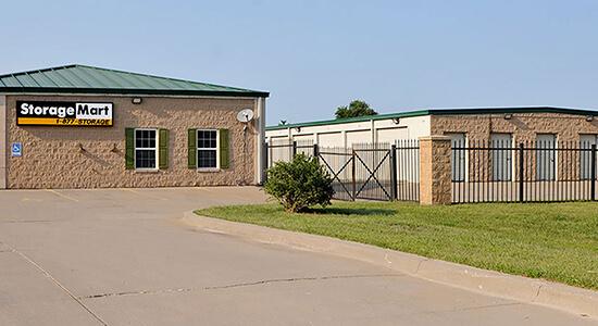 StorageMart - Self Storage Units Near W 43rd Street & State Rte 7 In Shawnee, KS