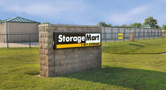 StorageMart Sign- Self Storage Units Near W 43rd Street & State Rte 7 In Shawnee, KS