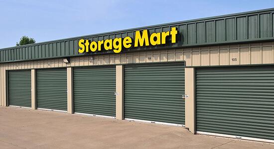 StorageMart Drive Up Units- Self Storage Units Near E Santa Fe Street & Conestoga Drive In Gardner, KS