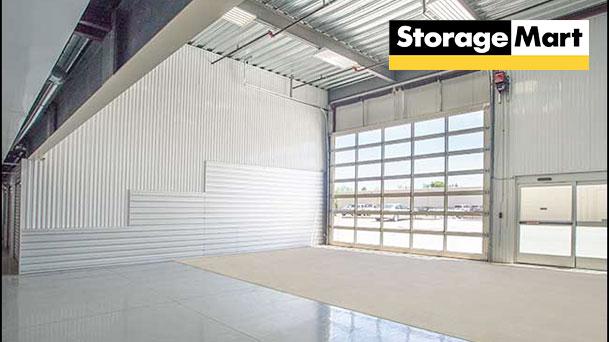 StorageMart Metcalf loading bay
