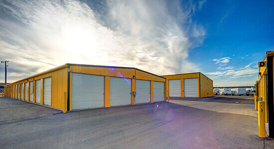 StorageMart Drive Up - Self Storage Units Near Winterburn RD and 115 Ave. In Edmonton, AB