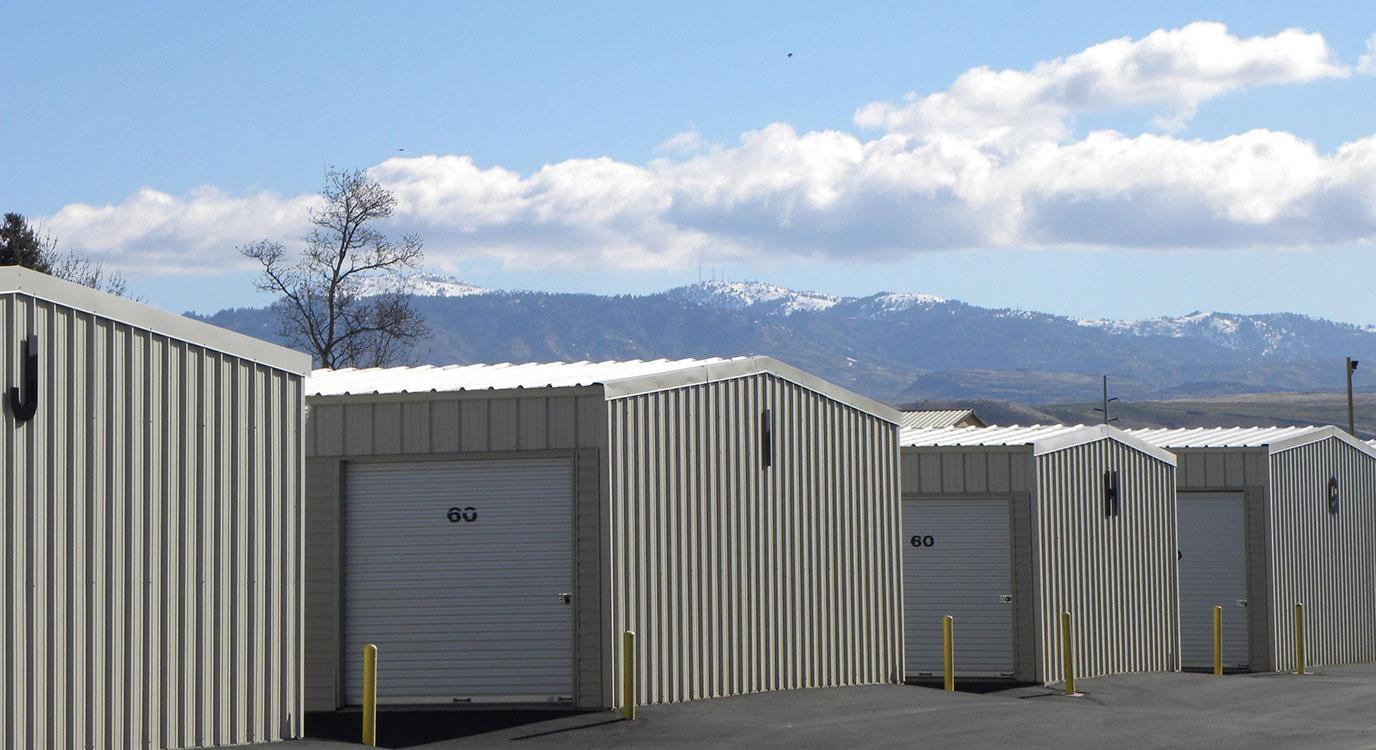 Eagle storage units