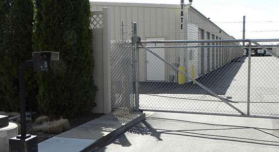 StorageMart Eagle Gated Access