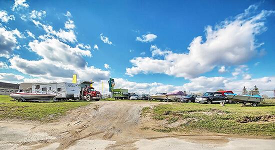 StorageMart RV Parking - Self Storage Units Near Hwy 400 & Innisfil Beach Rd In Innisfil, ON