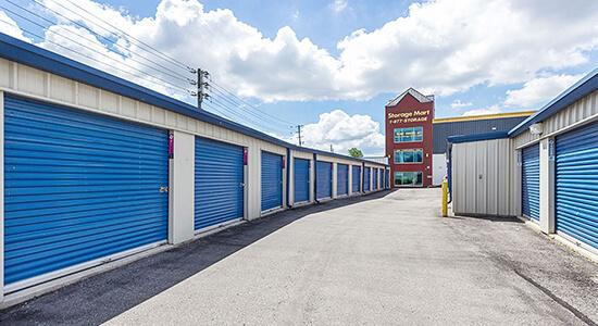 StorageMart Drive Up Units - Self Storage Units Near Eglinton & Black Creek Dr In York, ON