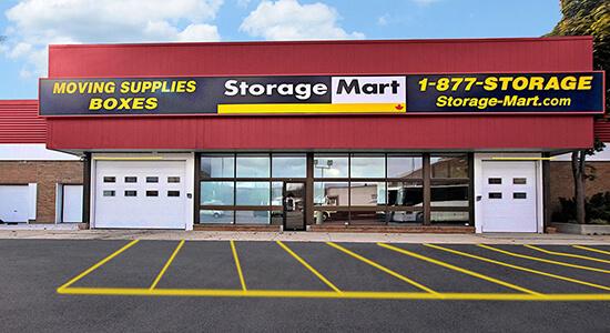 StorageMart - Self Storage Units Near O'Connor Drive, Toronto, ON