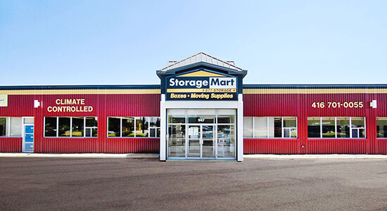 StorageMart Office - Self Storage Units Near Warden Avenue in Scarborough, ON