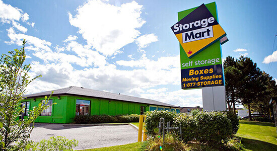 StorageMart - Self Storage Units Near Kennedy Road in Milton, ON