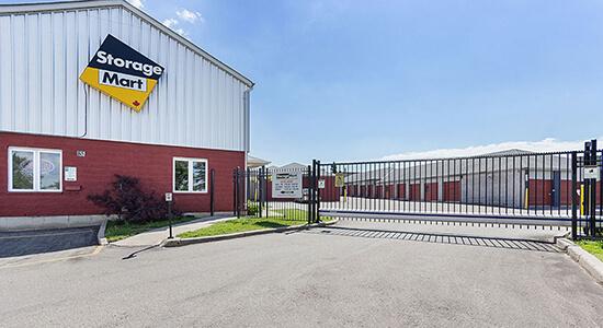 StorageMart Gated Access - Self Storage Units Near Westney Road South in Ajax, ON