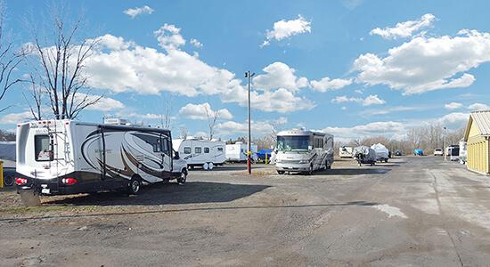 StorageMart RV Parking - Self Storage Units Near Herchimer Avenue in Belleville, ON
