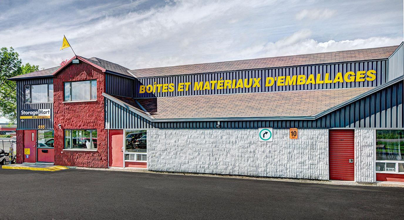 StorageMart - Self Storage Units Near rue Clemenceau in Quebec, QC