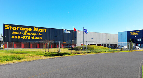 StorageMart - Self Storage Units Near Sir Wilfrid Laurier Blvd in St Hubert, QC