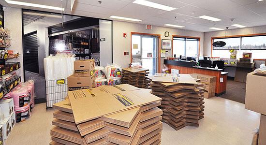 StorageMart Office- Self Storage Units Near Sandra Schmirler Way in Regina, SK