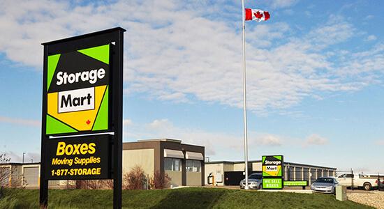 StorageMart - Self Storage Units Near Sandra Schmirler Way in Regina, SK