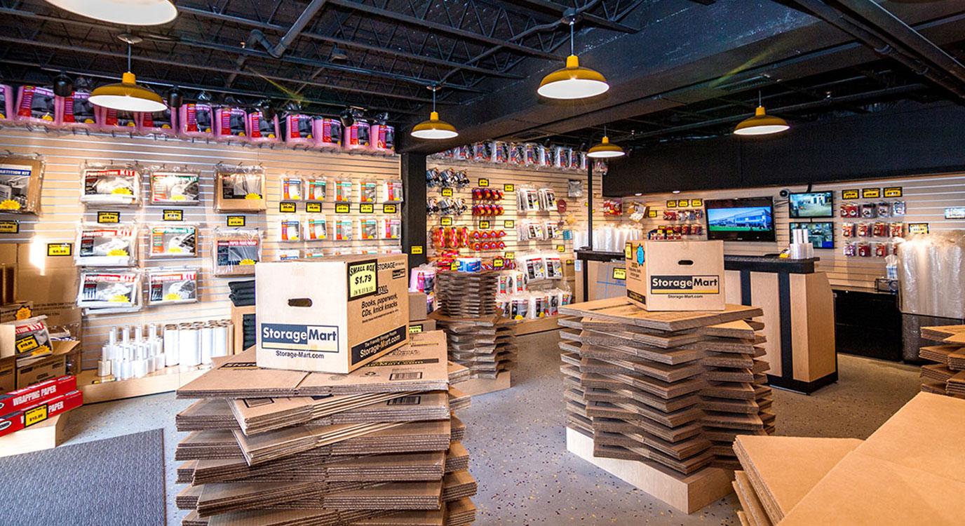 StorageMart - Self Storage Units Near 1st Avenue in Saskatoon, SK