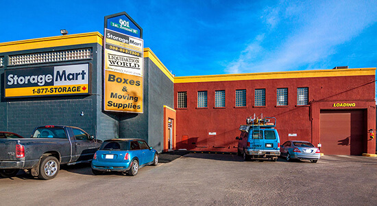 StorageMart - Self Storage Units Near 1st Avenue in Saskatoon, SK