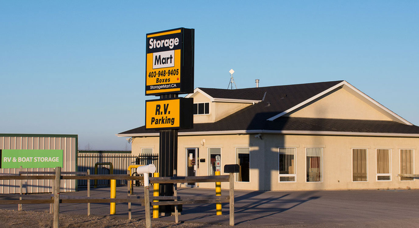 StorageMart - Self Storage Units Near TWO 270 SE in Airdrie, AB