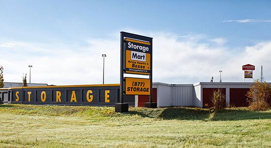 StorageMart - Self Storage Units Near 5th Street in Calgary, AB