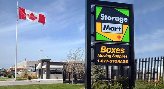 StorageMart - Self Storage Units Near 2nd Avenue in Lethbridge, AB