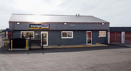 StorageMart - Self Storage Units Near Sherwood Park Fwy & 17th st In Edmonton, AB