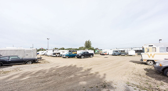 StorageMart RV Parking- Self Storage Units Near Yellowhead Hwy & Winterburn In Edmonton, AB