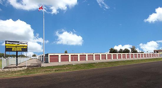 StorageMart - Self Storage Units Near Yellowhead Hwy & Winterburn In Edmonton, AB