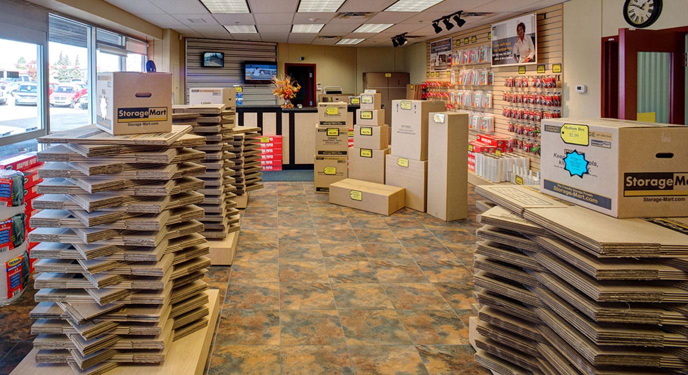 StorageMart - Self Storage Units Near 132 Ave NW & Fort Road In Edmonton, AB