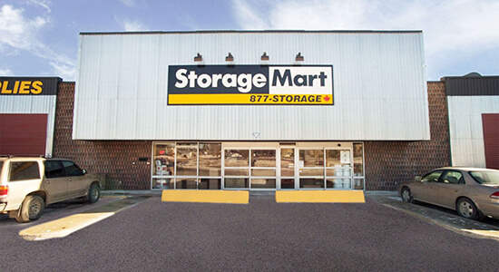 StorageMart Store Front- Self Storage Units Near 132 Ave NW & Fort Road In Edmonton, AB