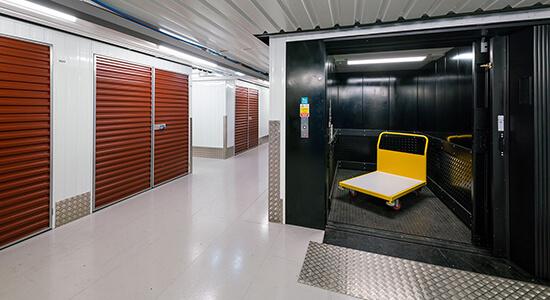 StorageMart Freight Lift - Storage Units Near Rapier Street In Ipswich, England