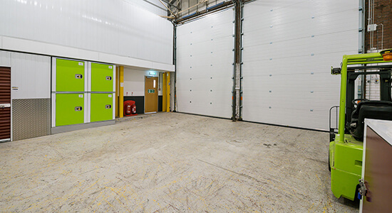 StorageMart Loading Bay - Storage Units Near Rapier Street In Ipswich, England