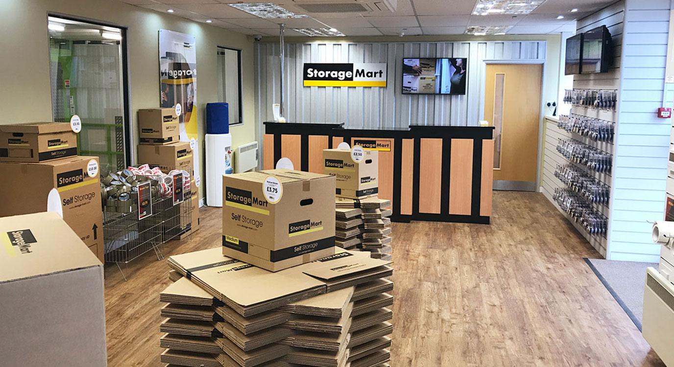 StorageMart - Self Storage Units Near Rapier Street In Ipswich, England