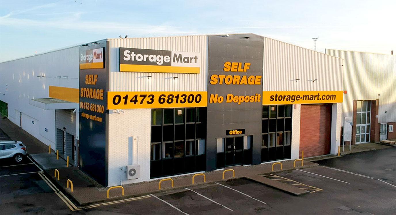 StorageMart - Storage Units Near Rapier Street In Ipswich, England