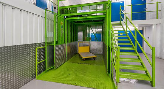 StorageMart Freight Lift- Self Storage Units Vulcan Road North In Norwich, England