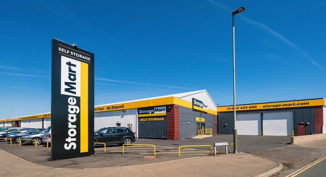 StorageMart - Self Storage Units Vulcan Road North In Norwich, England