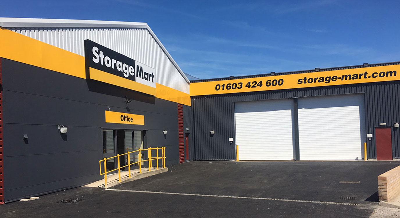 StorageMart - Self Storage Units Near Vulcan Road North In Norwich, England