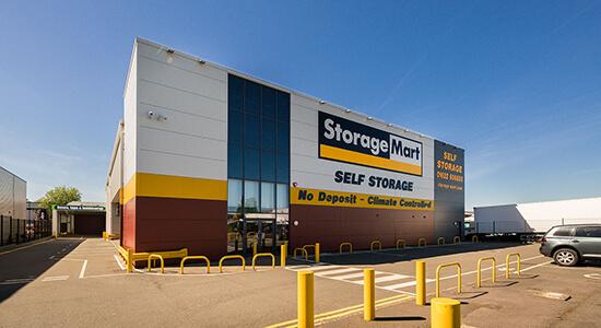 StorageMart - Storage Near Cuxton Road In Maidstone, England