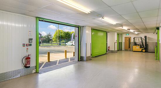 StorageMart Loading Bay - Self Storage Units Near Shrub End Road In Colchester, England