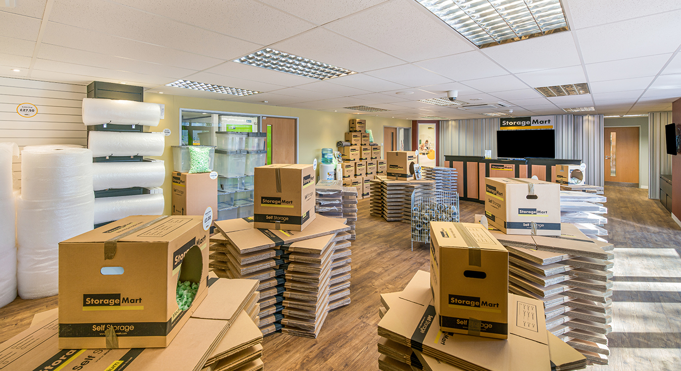 StorageMart - Self Storage Units Near Shrub End Road In Colchester, England