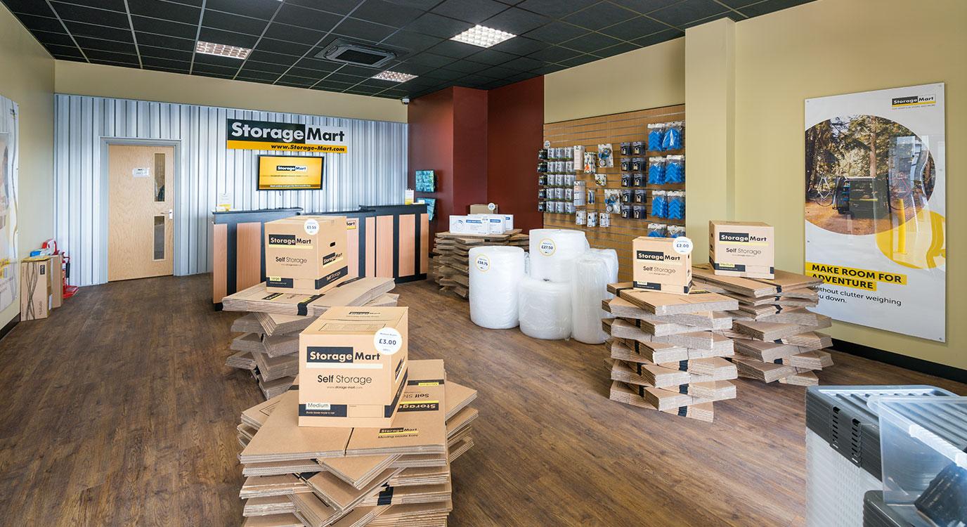 StorageMart - Self Storage Near Crowhurst Road In Brighton, England