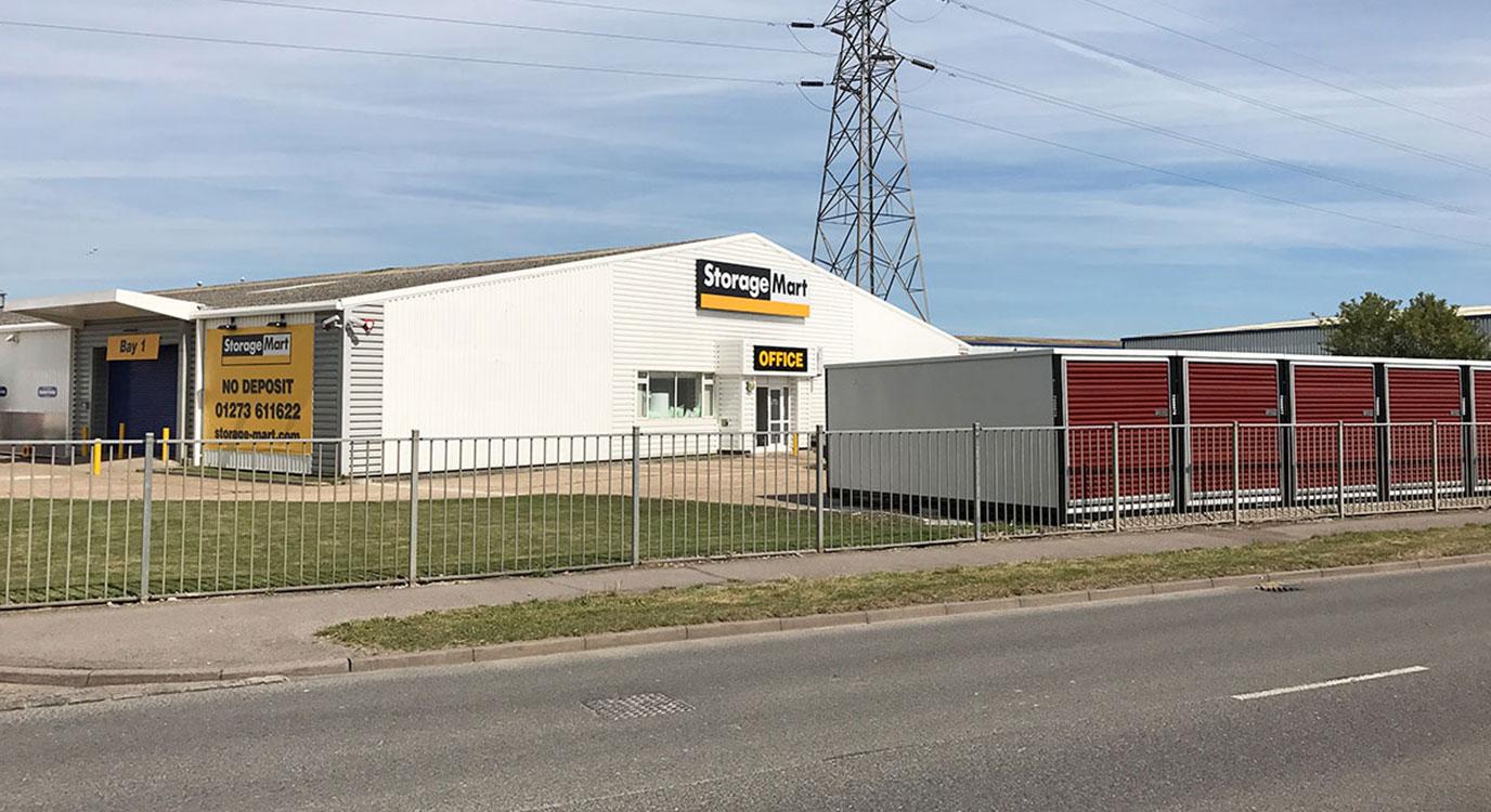 StorageMart - Self Storage Units Near New Road In Newhaven, England