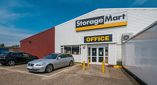 StorageMart - Self Storage Units Near New Road In Newhaven, England