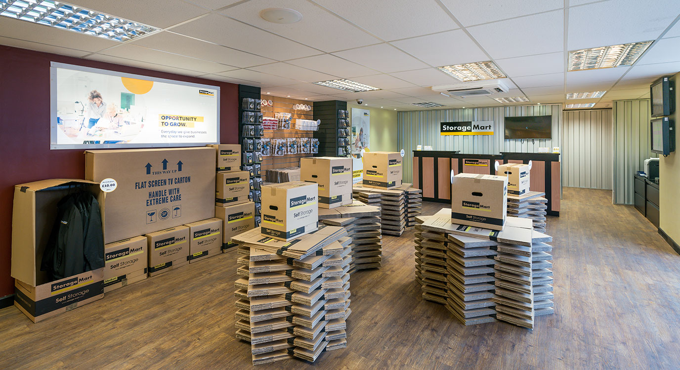 StorageMart - Storage Near Knaves Beech Way In High Wycombe, England