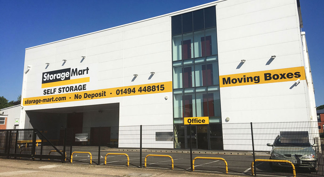 StorageMart - Self Storage Units Near Knaves Beech Way In High Wycombe, England