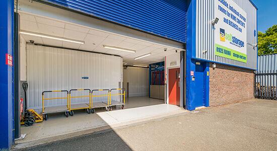 StorageMart Loading Bay - Storage Units Near Ridgewood In Uckfield, England