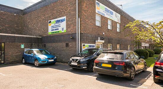 StorageMart - Storage Units Near Ridgewood In Uckfield, England