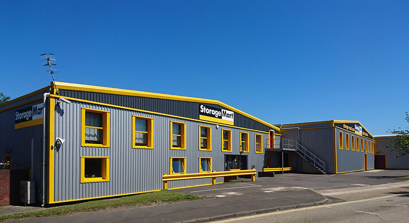 StorageMart - Storage Units Near Willowbrook Road In Worthing, England