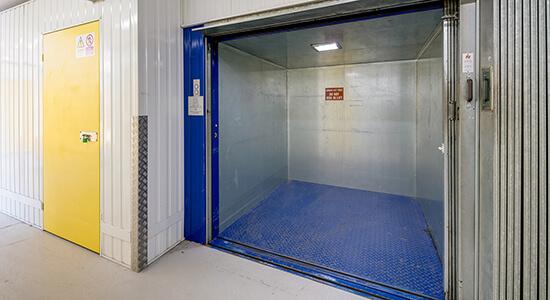 StorageMart Elevator Lift - Storage Units Near Willowbrook Road In Worthing, England