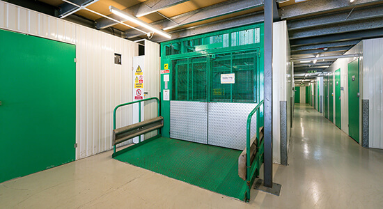 StorageMart Freight Lift - Storage Rooms Brighton