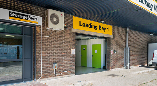 StorageMart Loading Bay - Self Storage Units Brighton