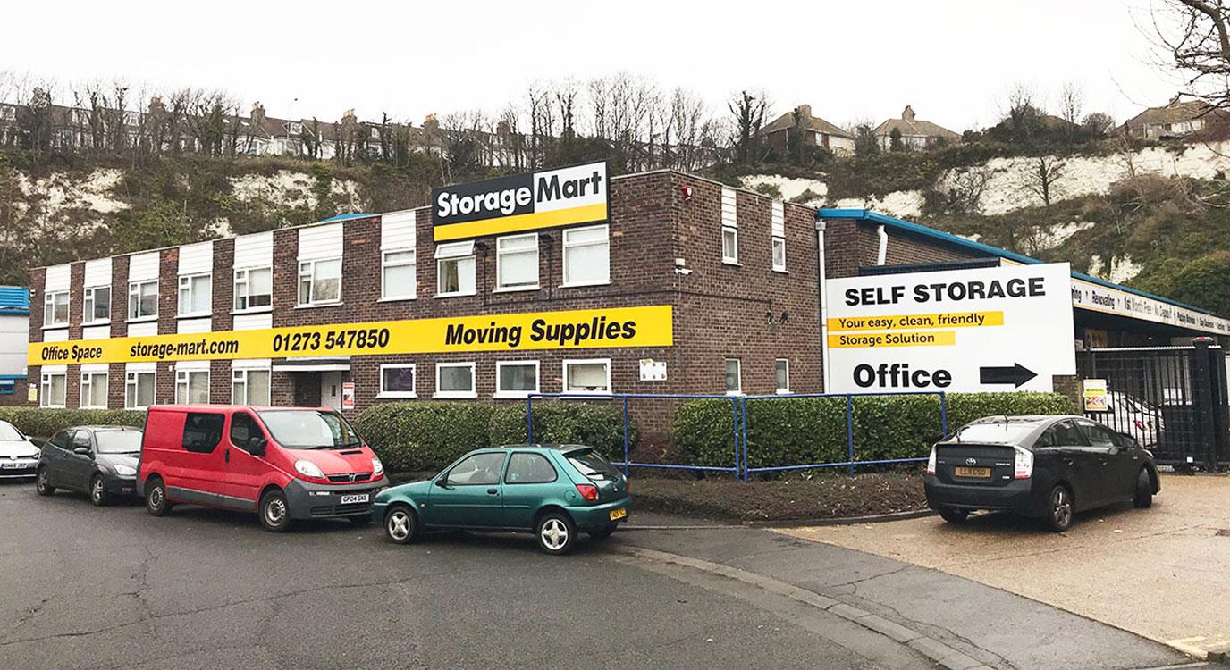 StorageMart - Self Storage Units Near Freshfield Industrial Estate in Worthing, UK